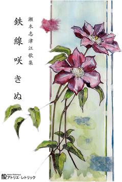 瀬木志津江 第四歌集『鉄線咲きぬ』