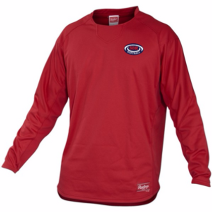 Rawlings Adult/Youth Long Sleeve Dugout Fleece Pullover