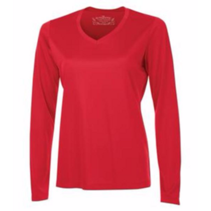 Atc Adult Pro Team Long Sleeve Ladies' V-Neck Tee