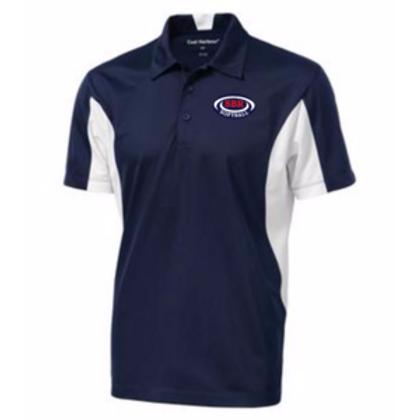 Coal Harbour Adult Snag Resistant Colour Block Sport Shirt