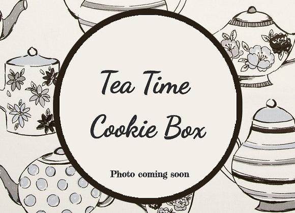 Tea Time Cookie Box