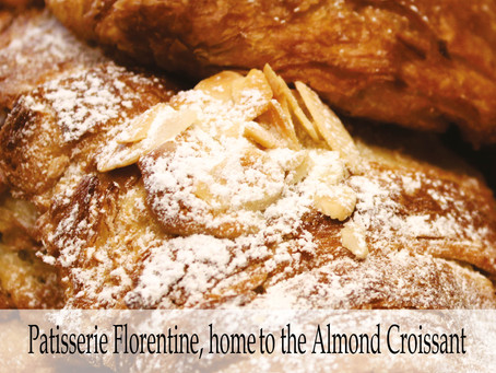 What makes PF home to the almond croissant?