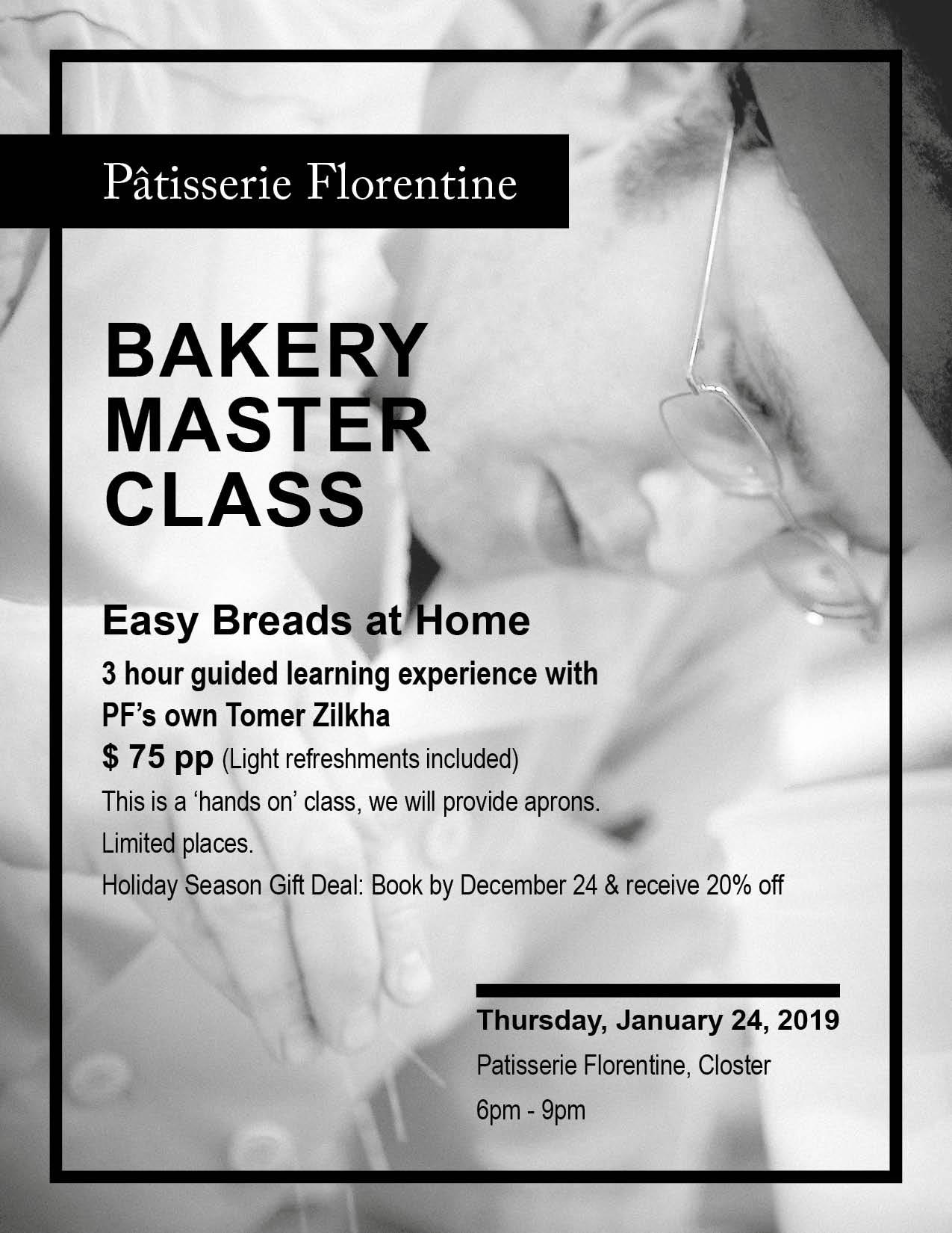 Easy Breads: Bakery Master Class