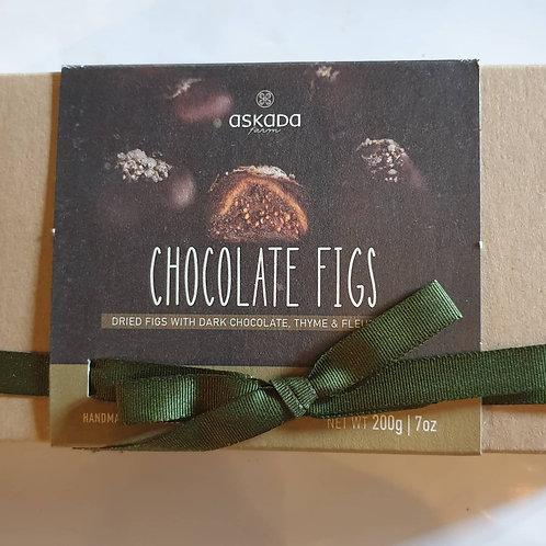 Schokoladenfeigen 200g / hangemacht
