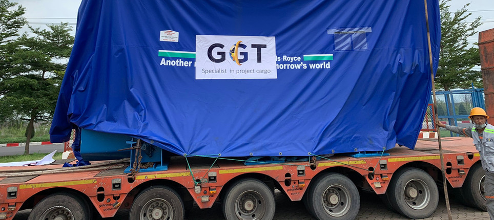 Transporting Heavylift (~80 MT) from CMIT to Dong Xuyen IZ