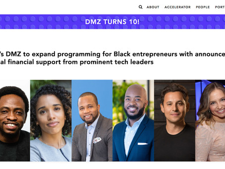 DMZ to expand programming for Black entrepreneurs with announcement of additional financial support