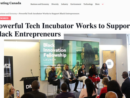 Powerful Tech Incubator Works to Support Black Entrepreneurs