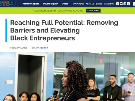 Reaching Full Potential: Removing Barriers and Elevating Black Entrepreneurs