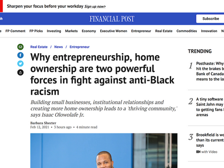 Why entrepreneurship, home ownership are two powerful forces in fight against anti-Black racism