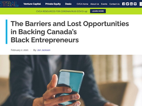 The Barriers and Lost Opportunities in Backing Canada's Black Entrepreneurs