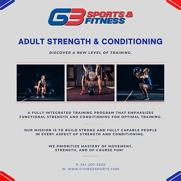 Instagram Adult Strength and Conditionin