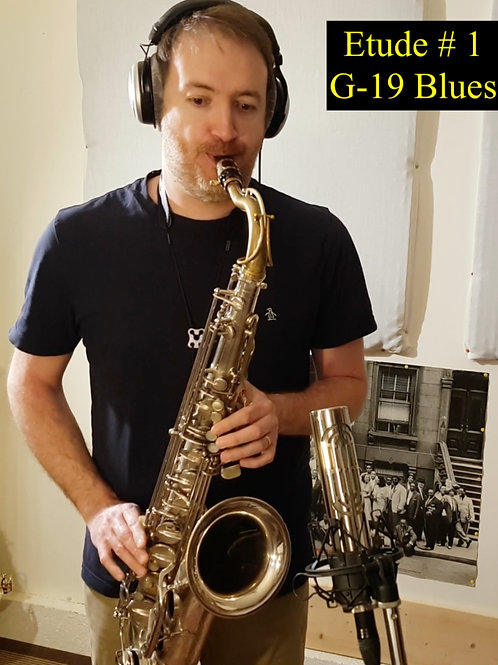 """Etude # 1 """"G-19 Blues"""""""