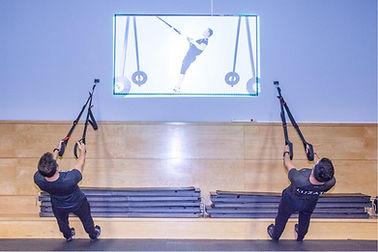 Entrenamiento en suspensión, TRX, Entrenamiento combinado, HIIT, sentadillas, tonificación, core