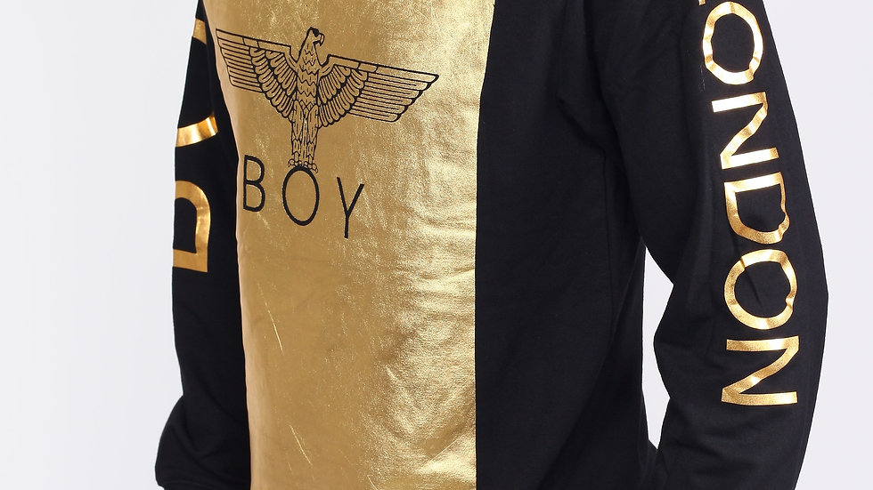 Boy Gold printed sweater
