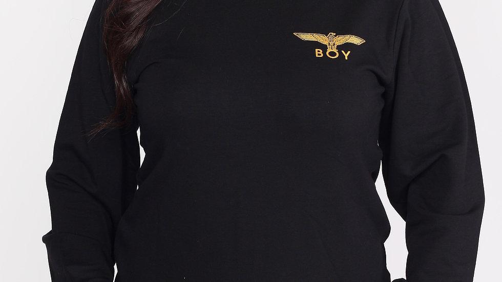 gold eagle sweater
