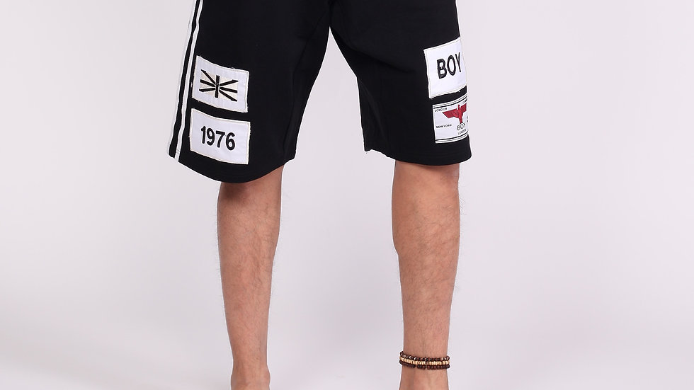 patched short