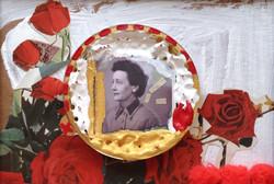Flora sur un lit de roses