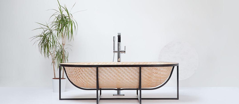 BATHTUB INSPIRED BY ASIAN BOATING BUILDING TECHNIQUES