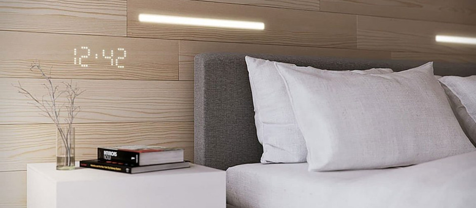 WOOD PANELS WITH BUILT-IN LIGHTING SYSTEM