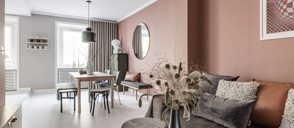 HOW TO DECORATE: PINK WALLS