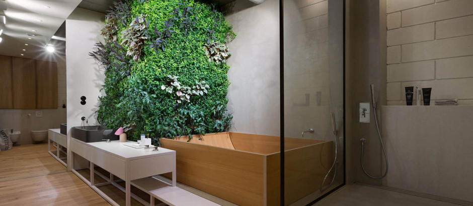 THIS PENTHOUSE BATHROOM IS ALL ABOUT NATURE