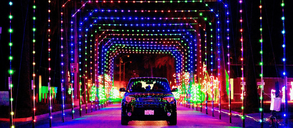 DRIVE-THRU HOLIDAY LIGHTS - DEL MAR FAIRGROUNDS