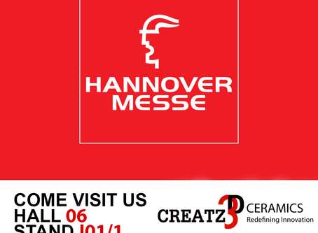Visit us at Hannover Messe 2019