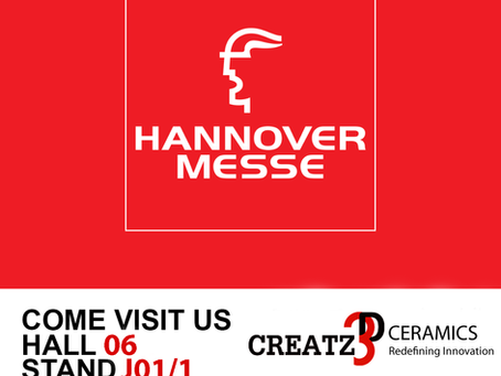 Visit us at Hannover Messe 2019