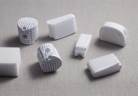 Porous hydroxyapatite implants