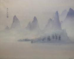 Les pins de la rivière Li