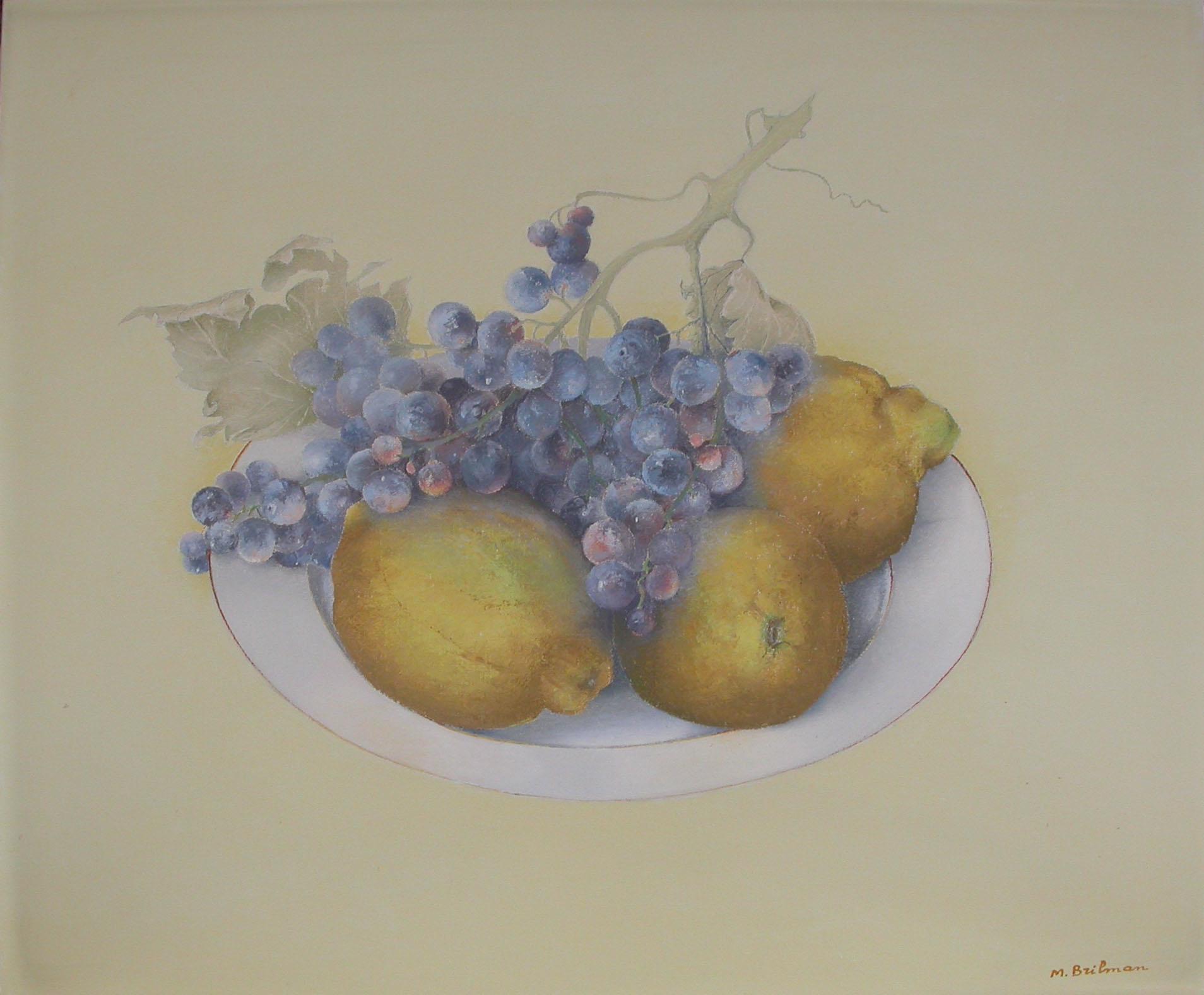 Citrons et muscat