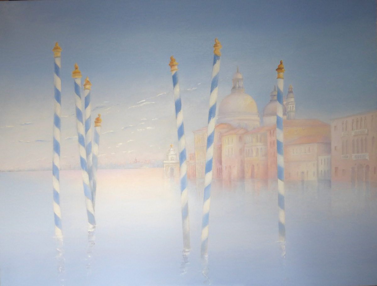 Venice mooring stakes