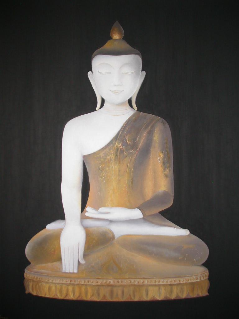 Bouddha d'albâtre, Birmanie