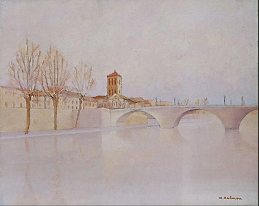 Bridge on the River Tiber