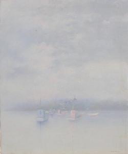 Bateaux de pêche au mouillage