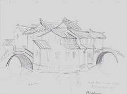 The two bridges in Zhouzhuang
