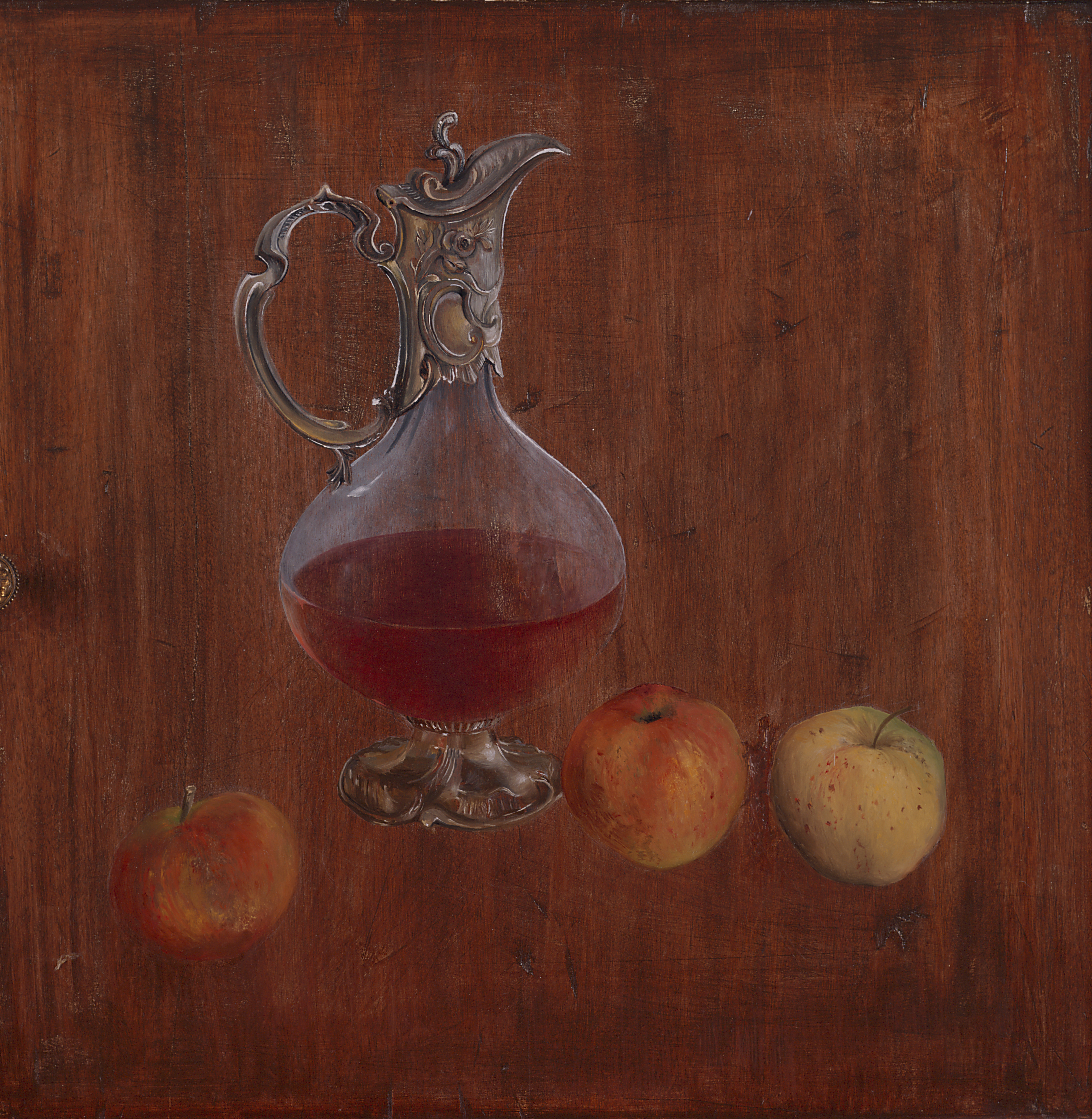 Ewer and Apples