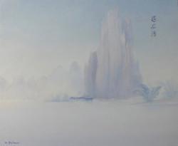 Rivages de la rivière Yulong, Chine
