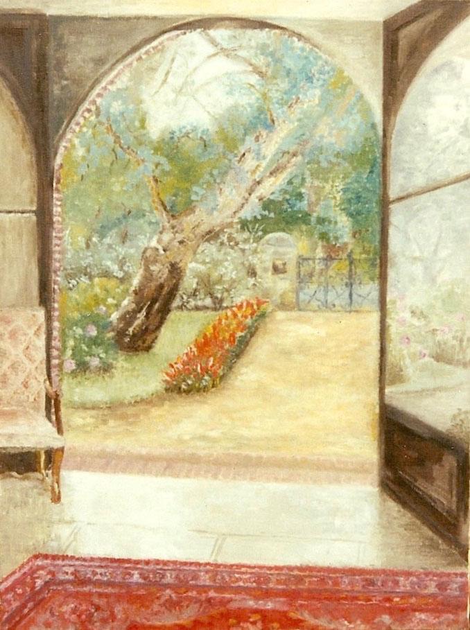 Hossegor, View from the garden