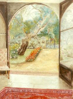 Hossegor vue du jardin