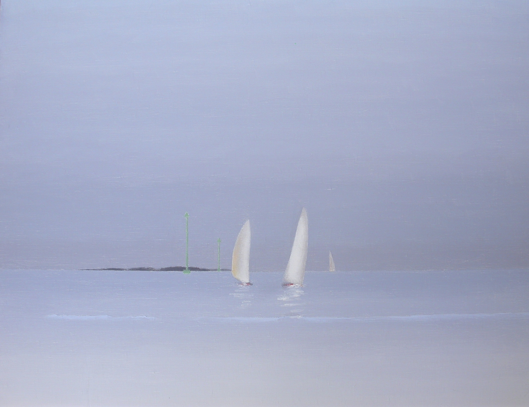 Sailing boats in the Gulf of Morbiha