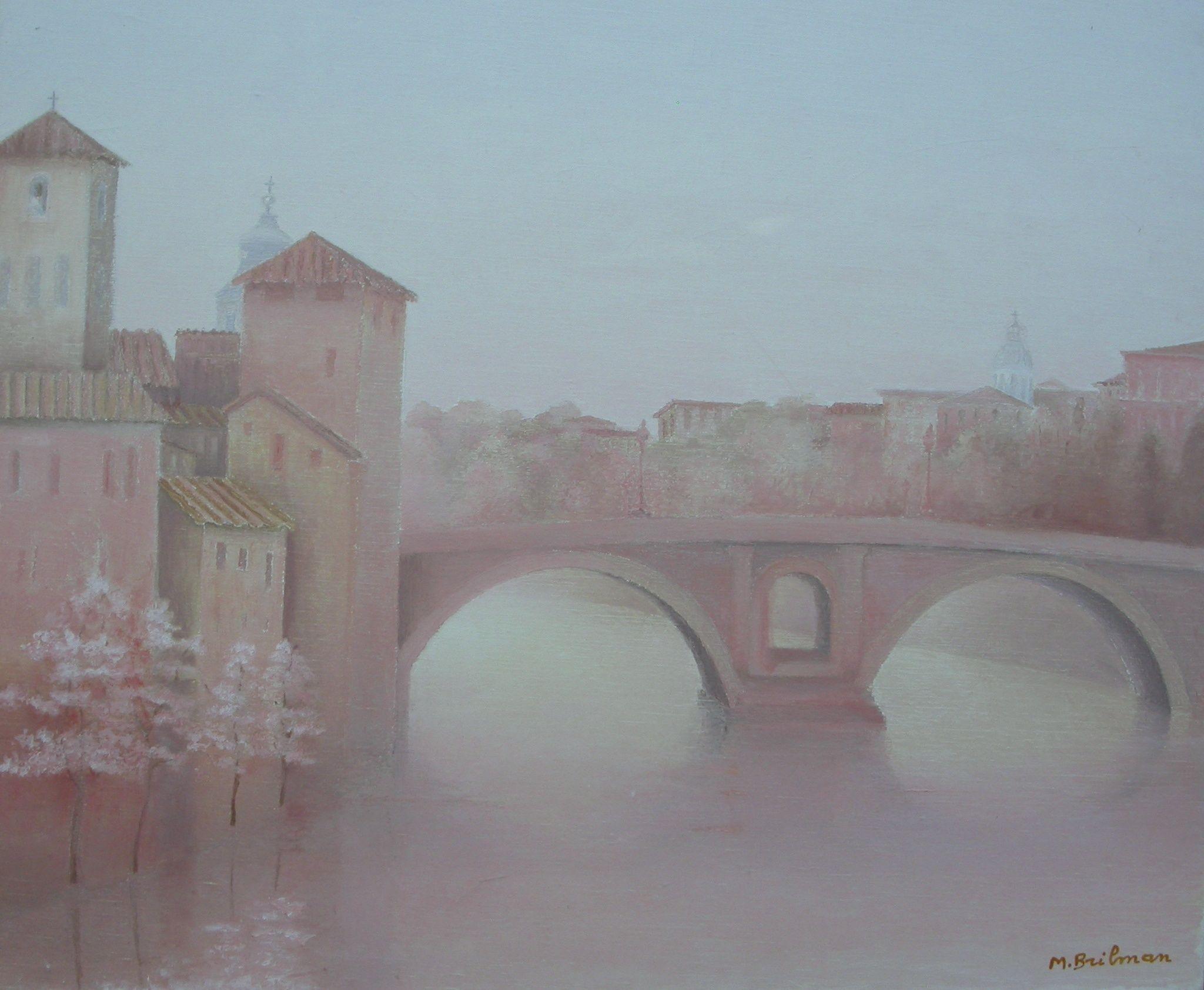 The Fabricio bridge, Rome
