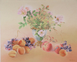 Fruits and wild roses