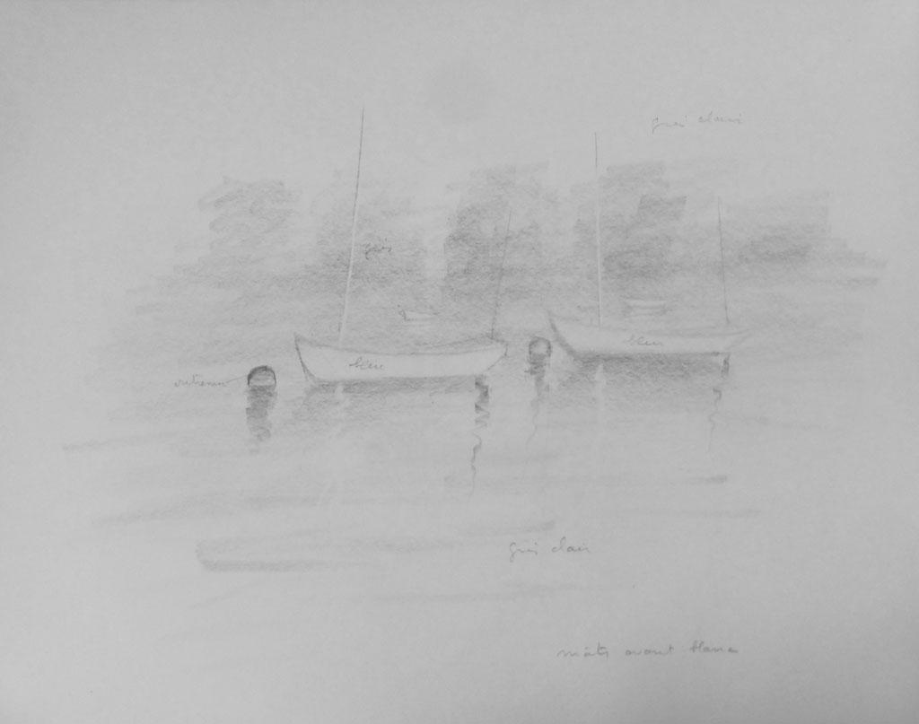 Voiliers sur Dart River 3