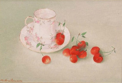 Cherries and cups
