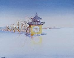 Pavillon de la pêche royale, Chine