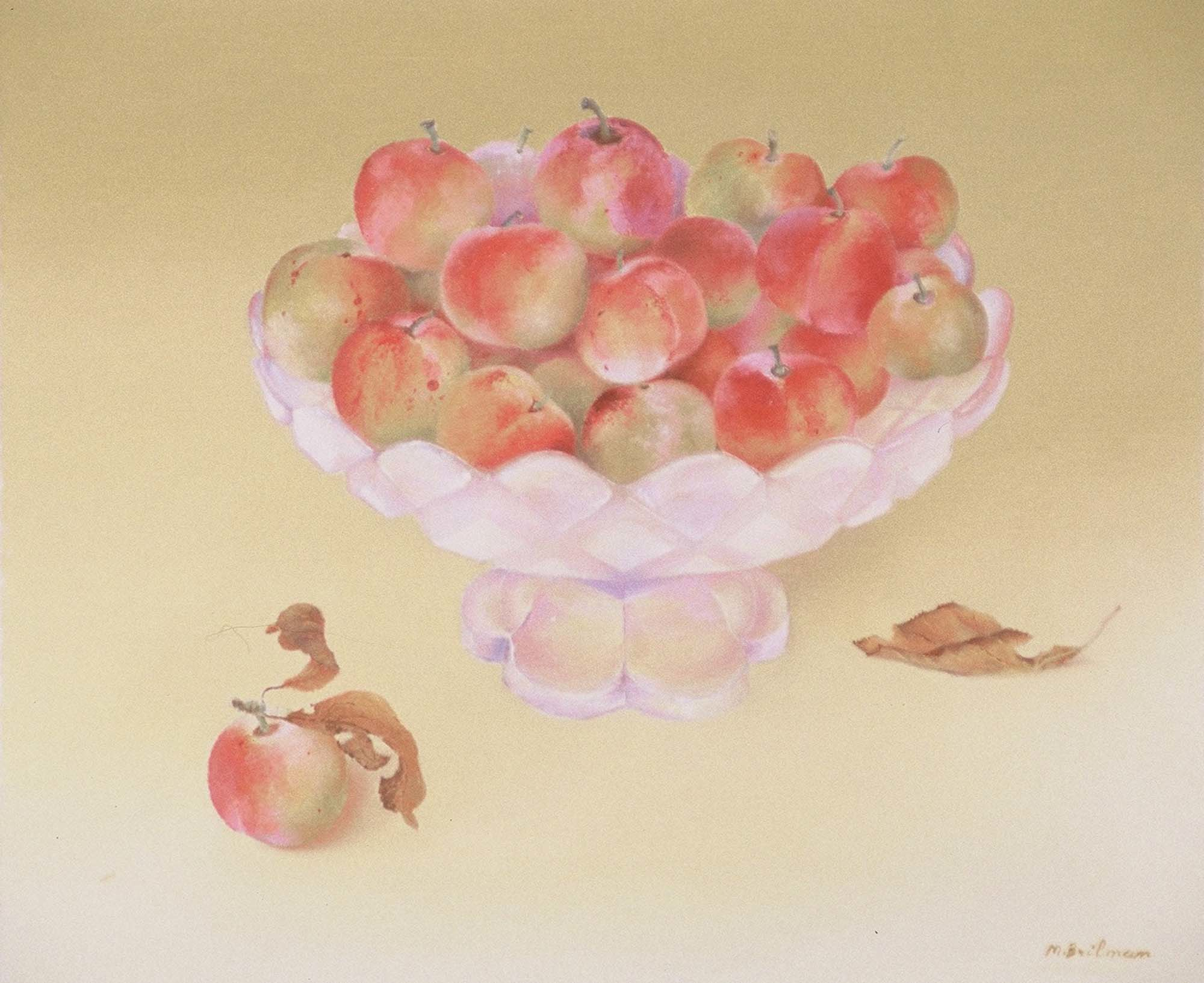 Bowl of Japanese plums