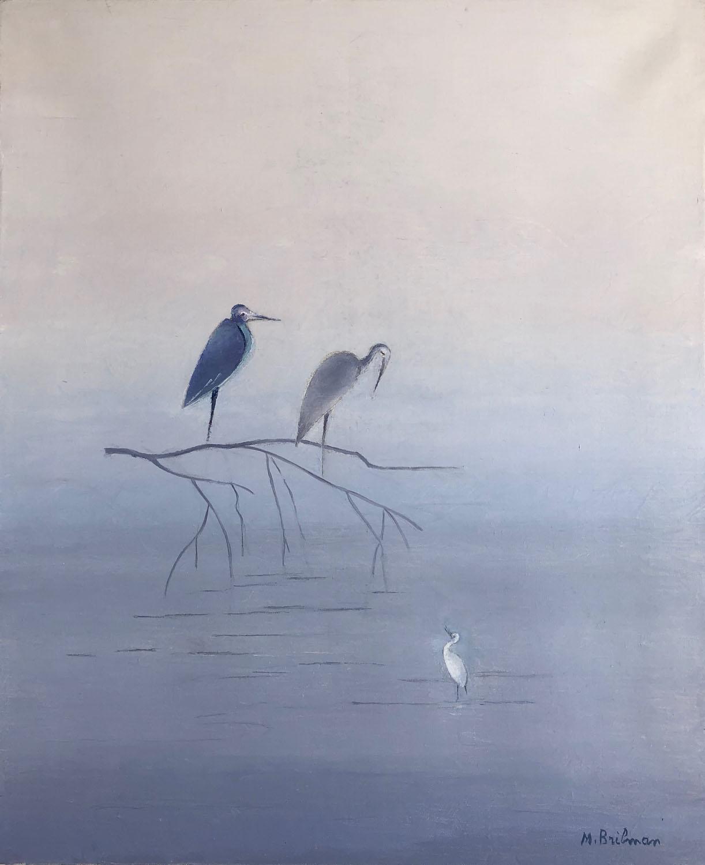 Herons in Casamance (1985)