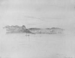 Tamar river, deux voiliers