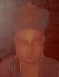 Bouddha du Tonkin (détail), Vietnam